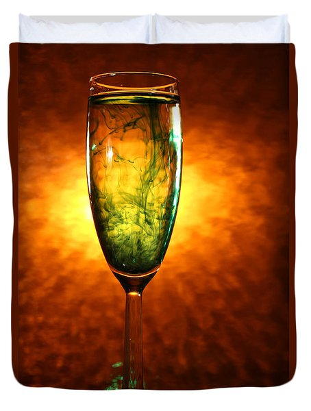 Wine Glass  Duvet Cover