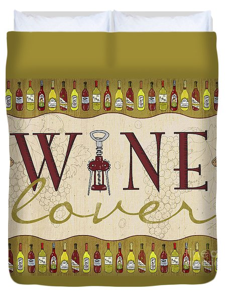 Wine Lover Duvet Cover