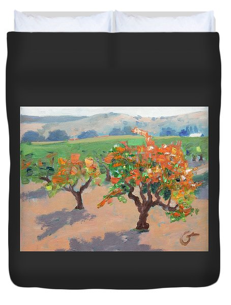 Winery Addiction Duvet Cover