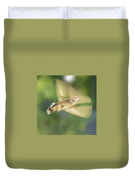 Wing Shadow Duvet Cover