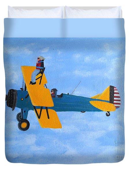 Wing Walker Duvet Cover