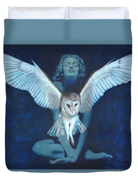 Winged Heart Duvet Cover
