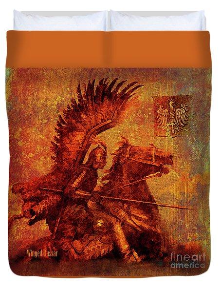 Winged Hussar 2016 Duvet Cover