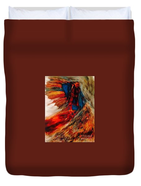 Winged Ones Duvet Cover