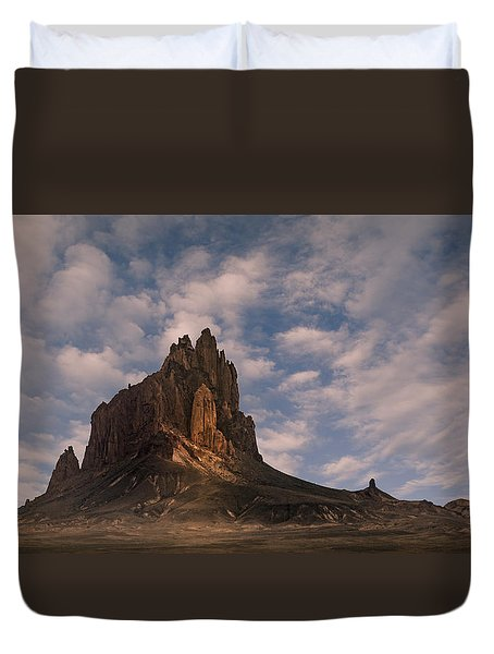 Winged Rock Duvet Cover