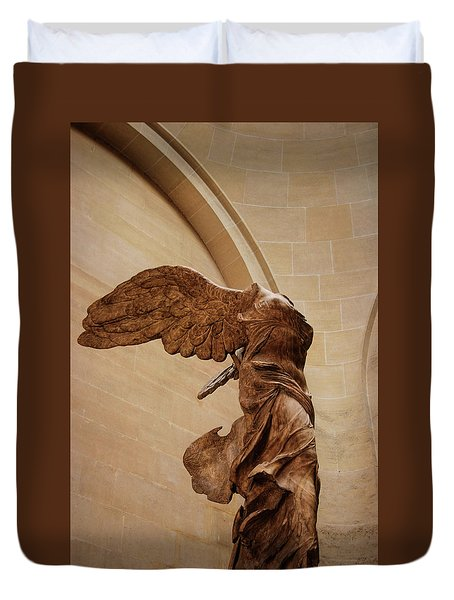 Winged Victory Duvet Cover by JAMART Photography
