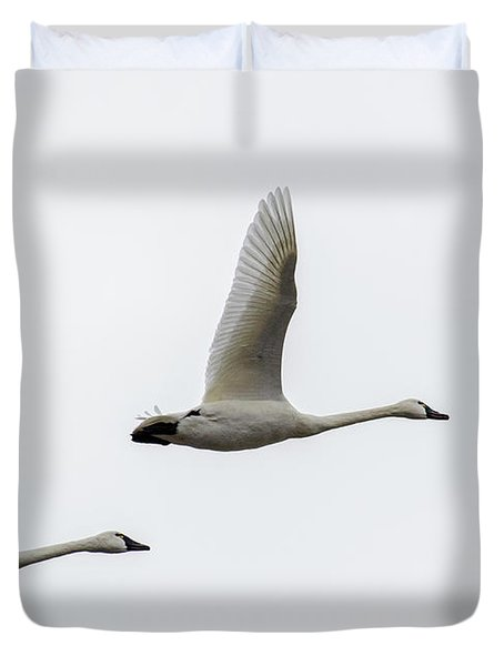 Winging Home Duvet Cover