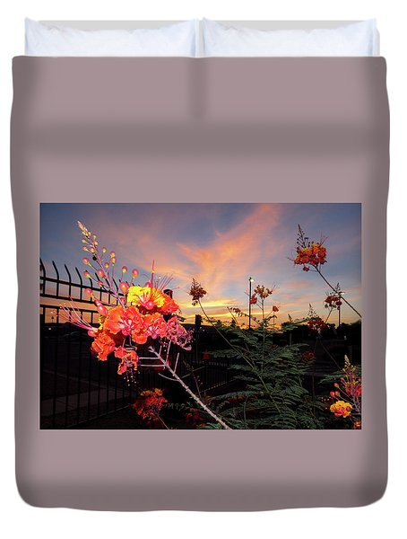 Wings Of Paradise Duvet Cover