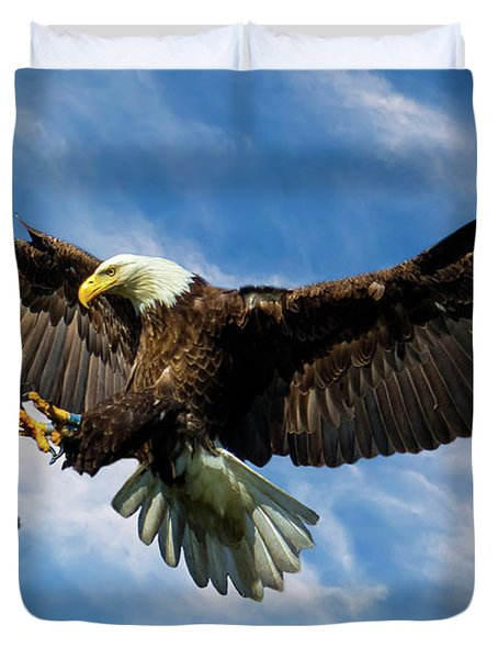 Wings Outstretched Duvet Cover