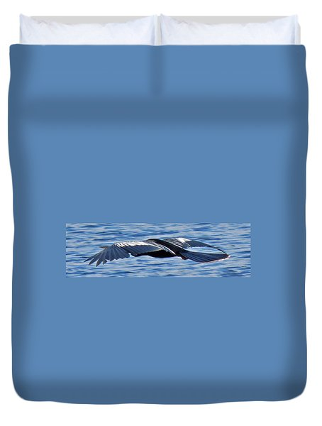 Wings Over Water Duvet Cover