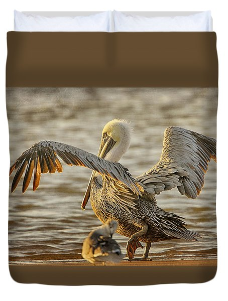 Wings Spread Duvet Cover