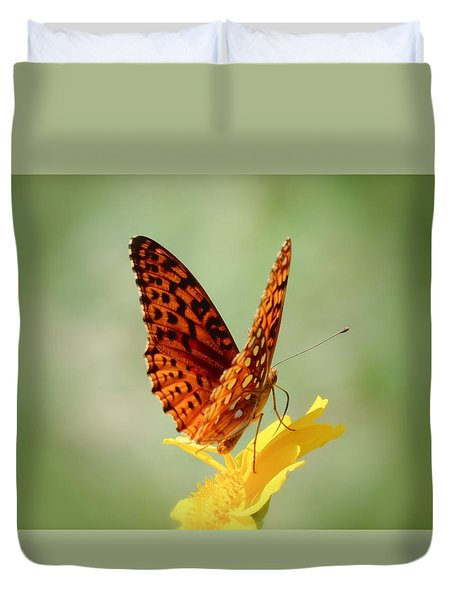 Wings Up - Butterfly Duvet Cover by MTBobbins Photography