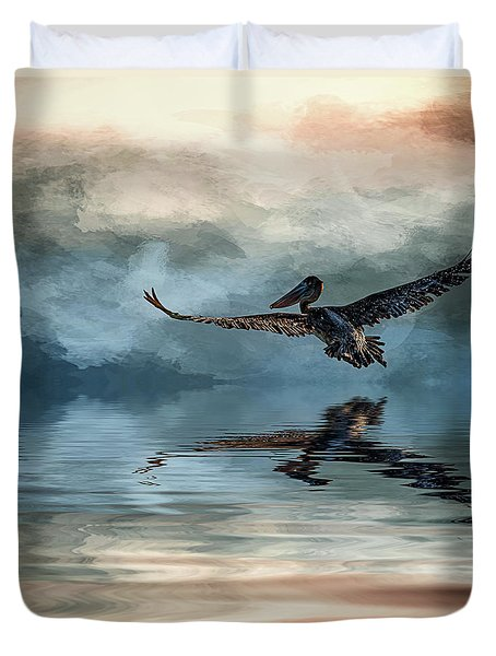 Wings Up Duvet Cover by Cyndy Doty