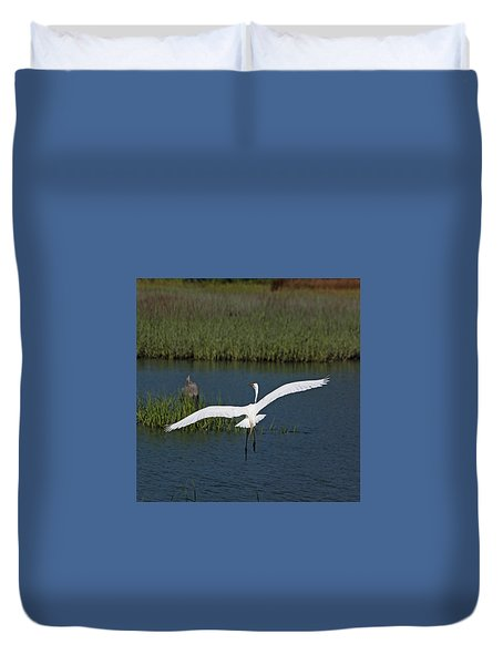 Wingspan Duvet Cover by Suzanne Gaff