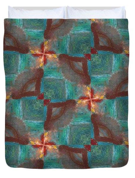 Wingspeed Duvet Cover by Maria Watt