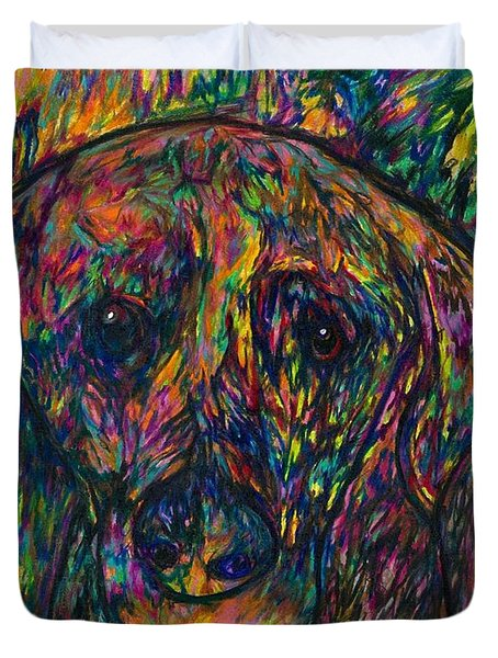 Winnie The Dog Duvet Cover