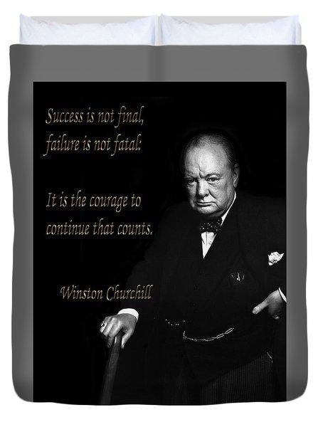 Winston Churchill 1 Duvet Cover