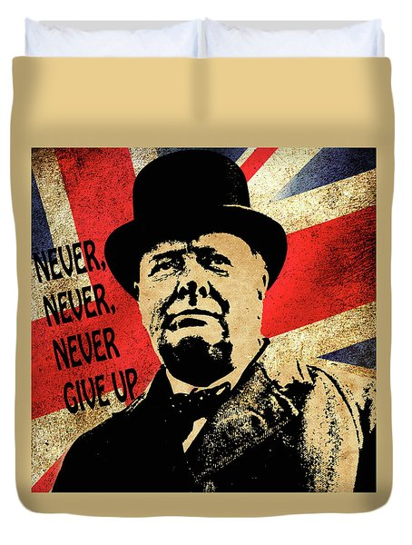 Winston Churchill 2 Duvet Cover