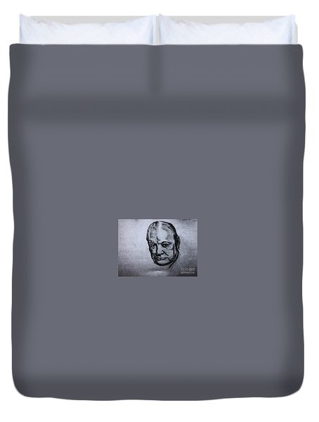 Winston Churchill  Duvet Cover