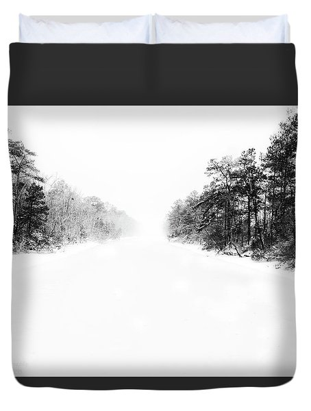 Winter Afternoon Duvet Cover