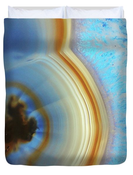 Winter Agate Duvet Cover