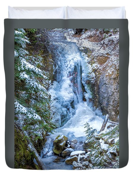 Winter Approaching Duvet Cover