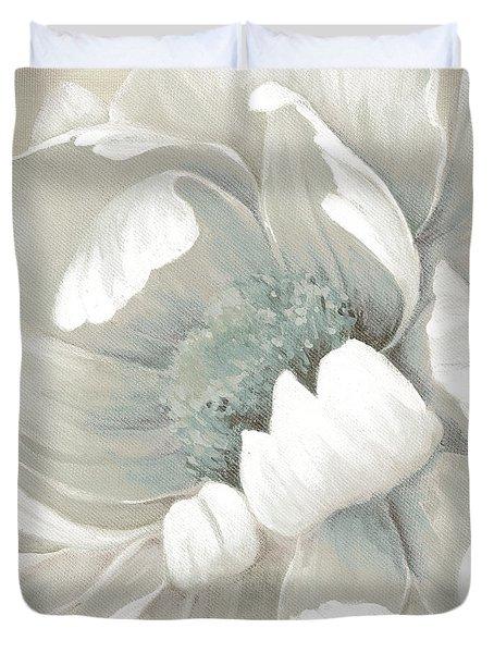 Winter Bloom 1 Duvet Cover