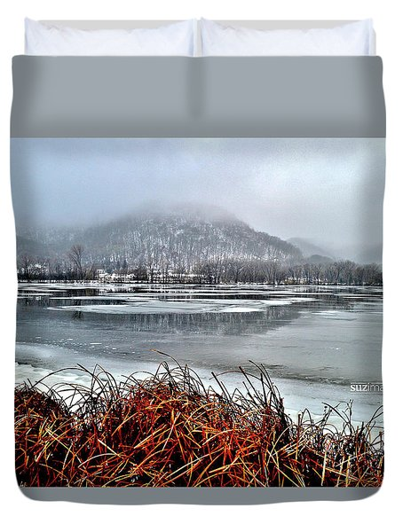 Winter Bluffs Duvet Cover
