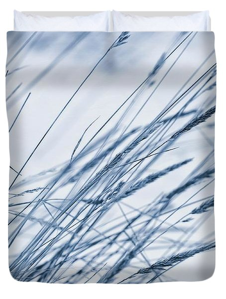 Winter Breeze Duvet Cover by Priska Wettstein