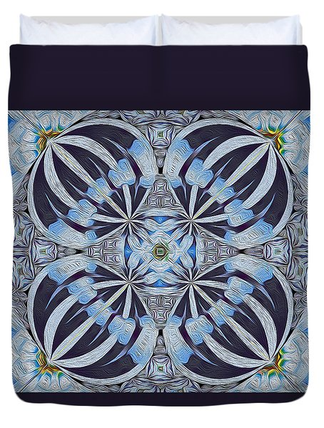 Winter Carnivale Duvet Cover