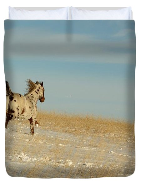 Winter Charger Duvet Cover