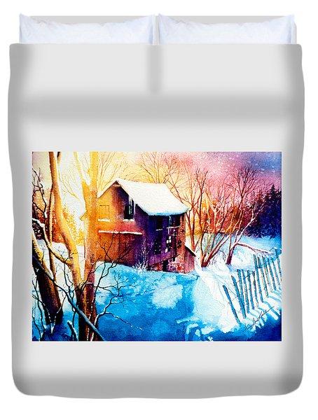 Winter Color Duvet Cover