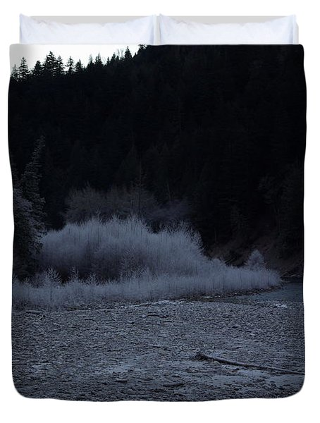 Winter Creek Duvet Cover
