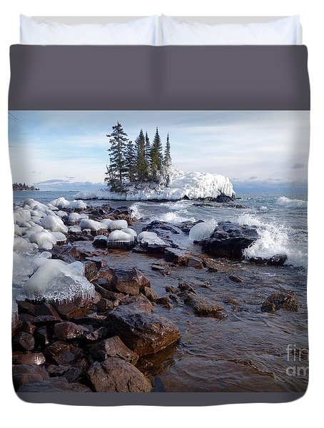 Winter Delight Duvet Cover