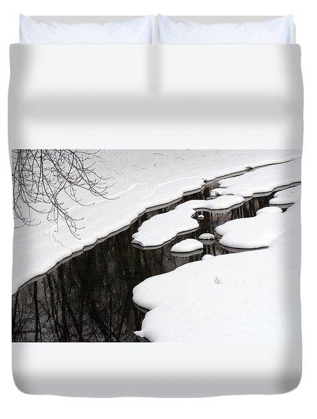Winter Dreams Duvet Cover by Paula Guttilla
