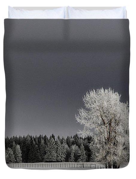 Winter Dreamscape Duvet Cover