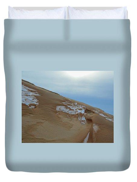 Winter Dune Duvet Cover