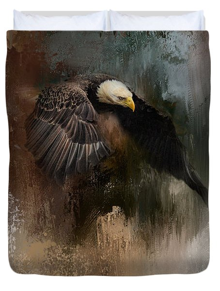 Winter Eagle 2 Duvet Cover
