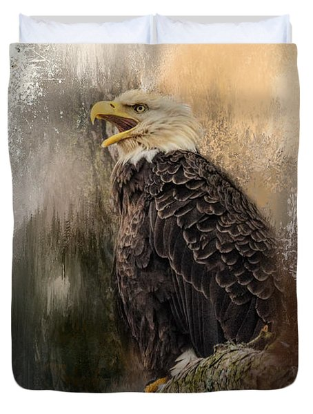 Winter Eagle 3 Duvet Cover