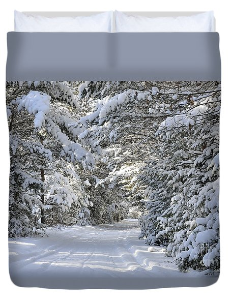 Winter Escape Duvet Cover