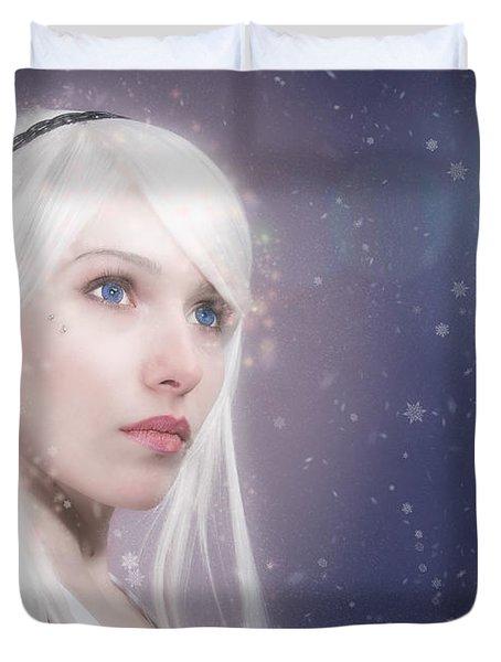 Winter Fae Duvet Cover
