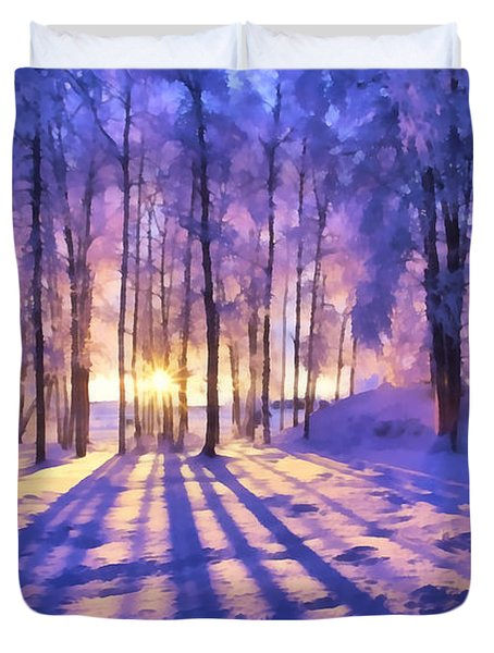 Winter Fairy Tale Duvet Cover