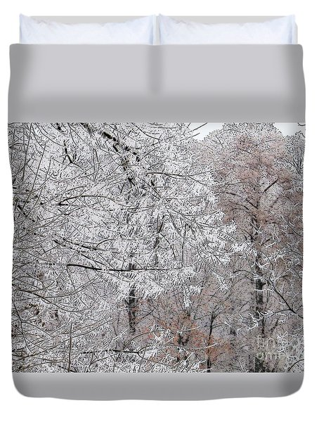 Winter Fantasy Duvet Cover