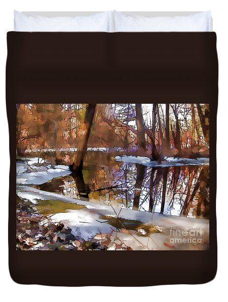 Winter Farewell Duvet Cover