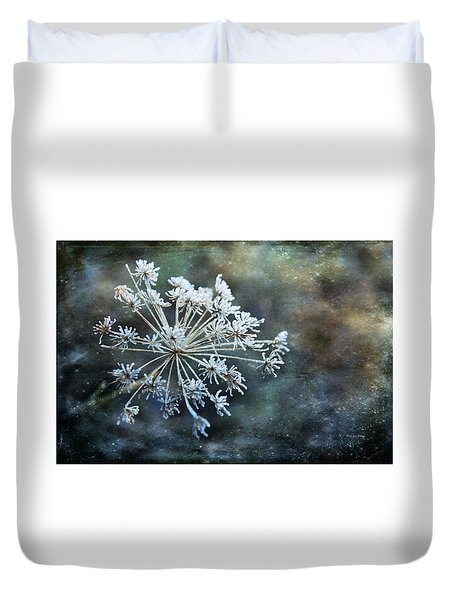 Winter Flower Duvet Cover