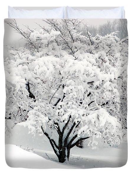 Winter Fluff Duvet Cover