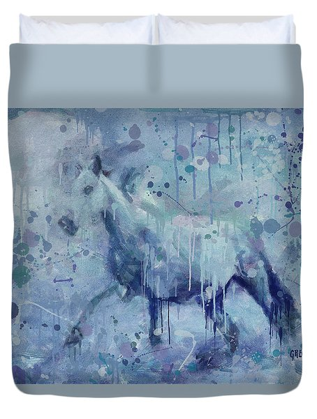 Winter Flurry Duvet Cover
