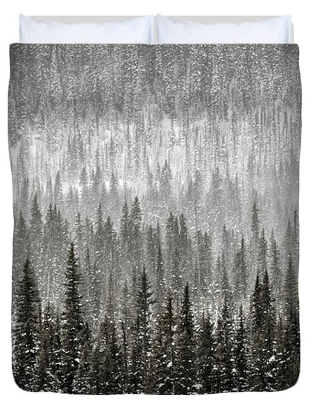 Winter Forest Duvet Cover