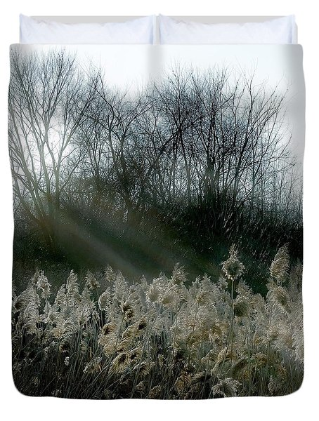 Winter Fringe Duvet Cover