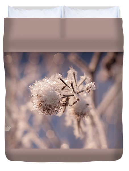 Winter Frost Duvet Cover
